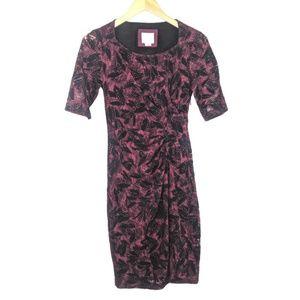 Anthropologie Maeve Dress Womens 0 Lace Sheath